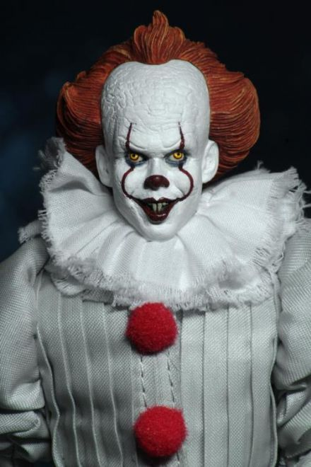 "NECA IT (2017) Pennywise 8"" Clothed Figure"